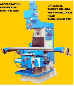All Geared Horizontal Milling Machine
