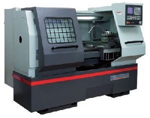 Flat Bed CNC Lathe Machine