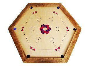 GACB-001 Carrom Board Hexagon Tournament