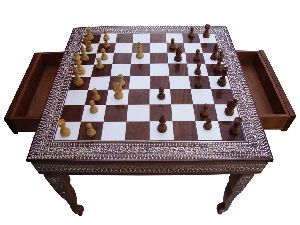 GACT-001 Square Chess with Drawer