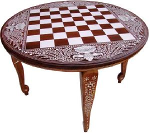 GACT-003 Round Chess Table