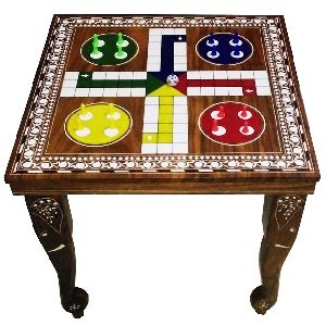 GACT-008 Wooden Ludo Table