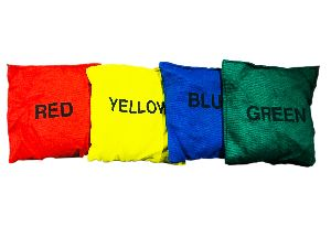 GAGM-0021.C Cotton Bean Bags (From 80gm to 100gm of each) with Color Name Printing