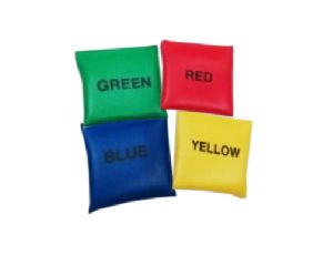 GAGM-0021.H PU Fabric Bean Bags (From 80gm to 100gm of each) with Color Name Printing