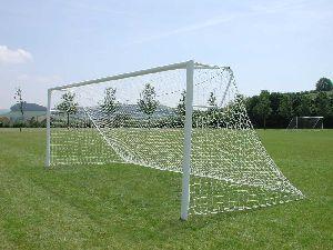 GAGP-0038 Football Aluminium Goal Post - Elliptical Socketed
