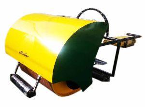 GAM-0013 Cricket Pitch Petrol cum Electric Roller (1 Ton Capacity)