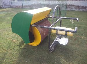 GAM-0014 Cricket Pitch Diesel cum Electric Roller (1 Ton Capacity)