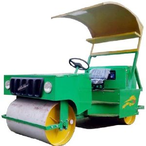 GAM-0022 Cricket Pitch Petrol cum Electric Roller (3 Ton Capacity)