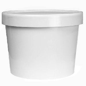 Ice Cream Plastic Container