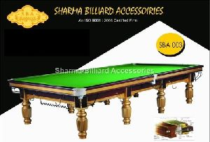 Italian Billiards Table
