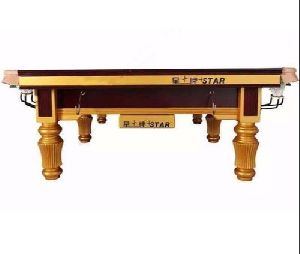 Star Billiards Table