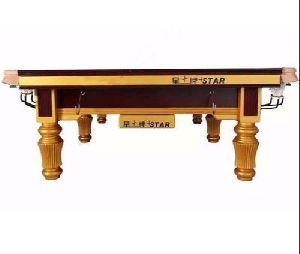 Star Billiards Table