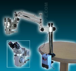 Portable Dental & ENT Microscope with Direct Halogen Light