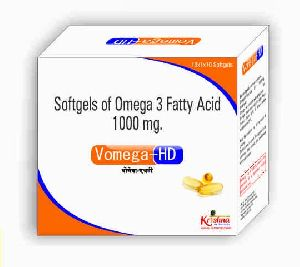 Vomega HD Softgel Capsules