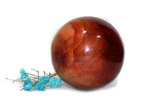 Carnelian Sphere Ball