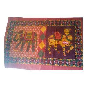 Kantha Work Bed Sheet