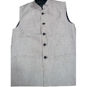 Mens Sleeveless Nehru Jacket
