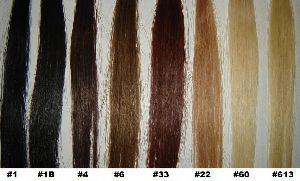 Coloured Hair Extensions