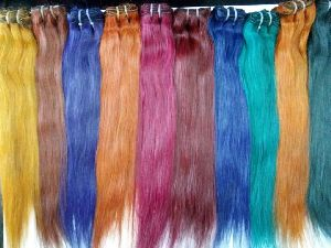 Coloured Human Hair