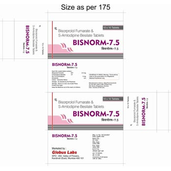 Bisorprolol Fumarate & S-Amlodipine Besilate Tablets