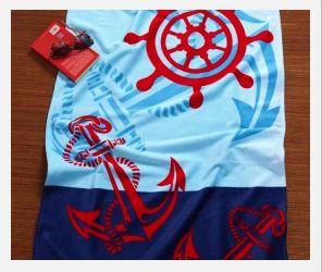 Anchor & Wheel Beach Towel
