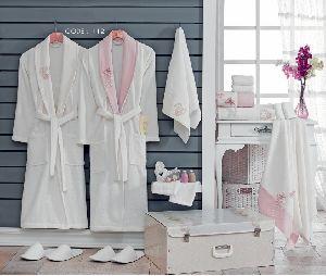 Wedding Bathrobe Set