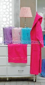 3 Piece Eco 3D Family Bathrobe Set