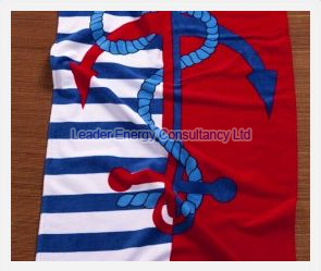 Anchor & Rope Beach Towel