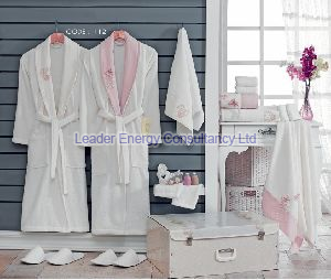 Wedding Bathrobe Set