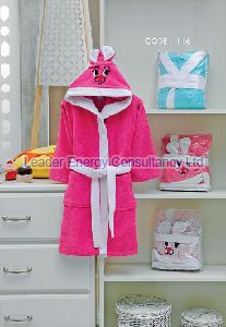 Kids Velvet  Bathrobe