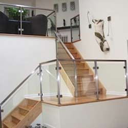 Stainless Steel Glass Railings