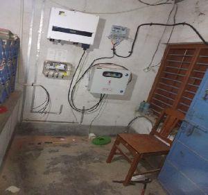 Inverters Under Installation