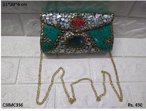 Beautiful Mosaic Clutch Purse