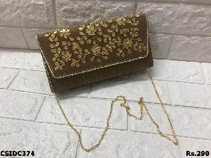 Designer Gota Patti Clutch Bag