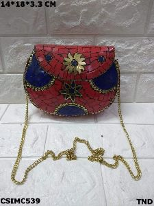 Gorgeous Mosaic Clutch Purse