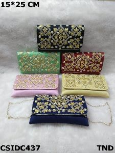 Gota Patti Clutch Purse