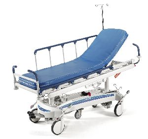 Multi Function Hydraulic Stretcher Trolley (Blue)