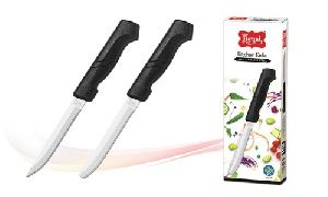 Black Handle Kitchen Knife