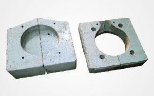Induction Furnace Top & Bottom Blocks