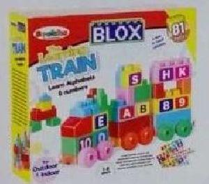 81 Pcs The Learinig Train Box Packing