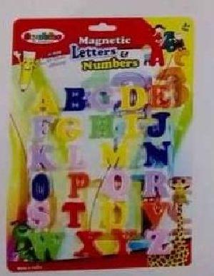 Alphabet Magnetic Display