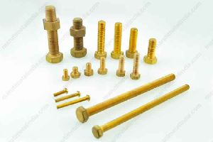 brass nut and bolts