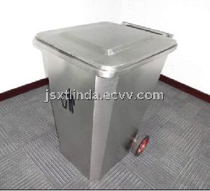 Dustbin with wheel