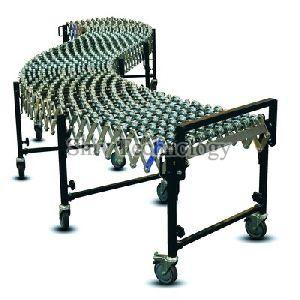 Bend Type Gravity Roller Conveyor