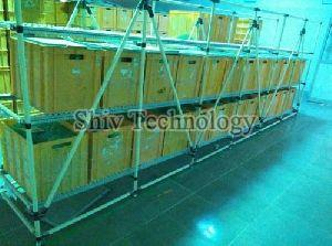 FIFO Storage Rack Trolley