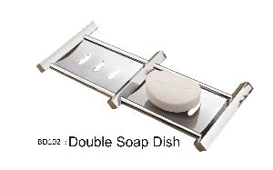 Double Soap Dish