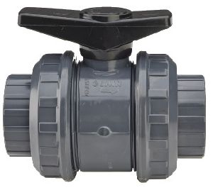 PVC Double Union Ball Valve
