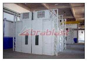 Automobile Paint Spray Booth