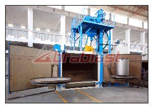 Swing Table Shot Blasting Machines AB-AST-1800 01