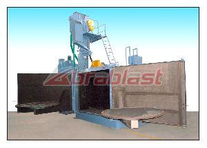 Swing Table Shot Blasting Machines AB-AST-1800 05
